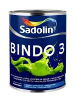 Краска для стен BINDO 3  BW (1л.)