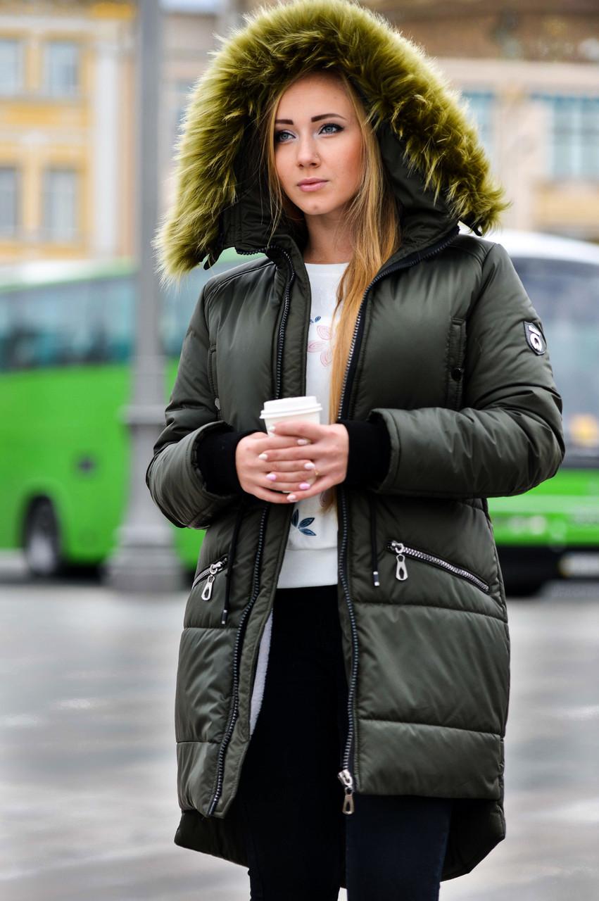 5dd728fffa9 Женская парка куртка на меху (зимняя) купить в Харькове и Украине ...