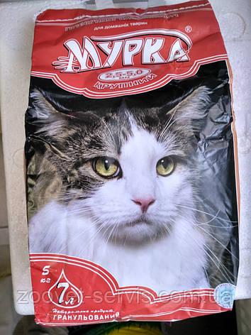 Наполнитель для кошачьих туалетов Мурка, крупный, фото 2