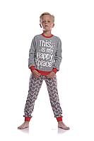 Пижама для мальчика   BNP 012/003 * (146-158 р.)(ELLEN). Новинка осень-зима 2018