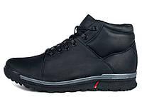Зимние ботинки мужские кожаные Mida 14049