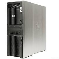 Hewlett-Packard Z600 Workstation / 2 процессора по 4 ядра Xeon E5504 / 4 ГБ ram / NVIDIA Quadro NVS 295
