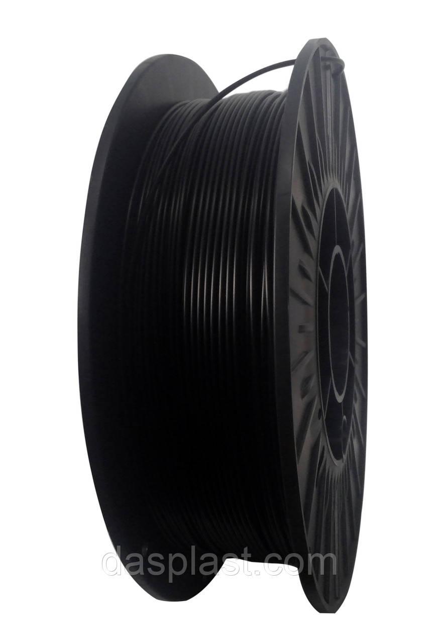 АБС нить 1.75 мм 0,5 кг пластик для 3d печати, черный