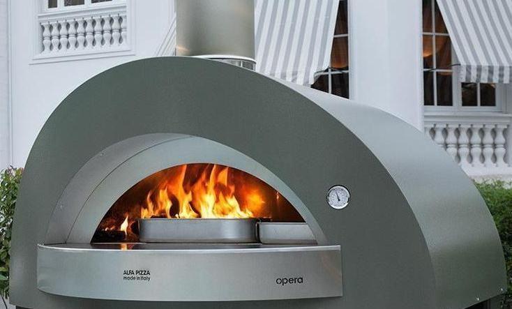 Печь для пиццы на дровах Alfa Pizza OPERA