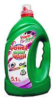 Гель для стирки Power Wash Original Color для цветных тканей - 5,1 л.