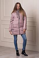 Зимняя женская куртка WONDER бежевого цвета  БЕСПЛАТНАЯ ДОСТАВКА!!!