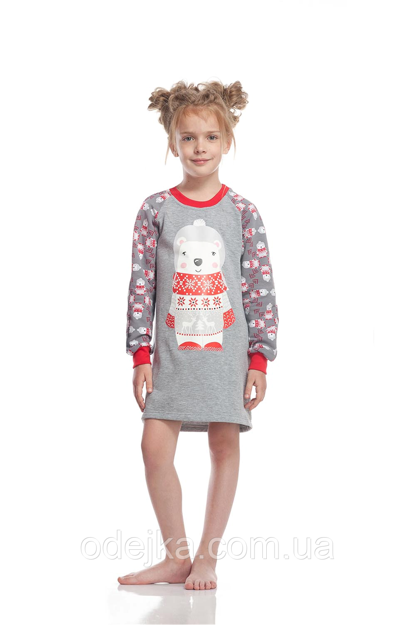 Сорочка для девочки GND 008/001 * ( 146-158р) (ELLEN) НОВИНКА осень-зима 2018