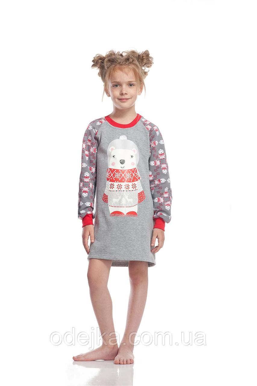 Сорочка для дівчинки GND 008/001 * ( 146-158р) (ELLEN) НОВИНКА осінь-зима 2018