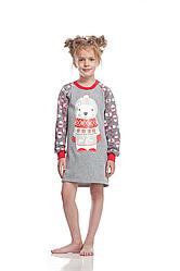 Сорочка для дівчинки GND 008/001 * ( 104-116р.) (ELLEN) НОВИНКА осінь-зима 2018
