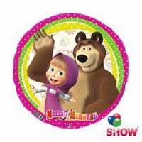 Фольгована кулька Маша и медведь