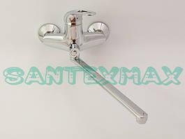 Однорычажный вертикальный смеситель для ванны Haiba Cosmos 006 Euro