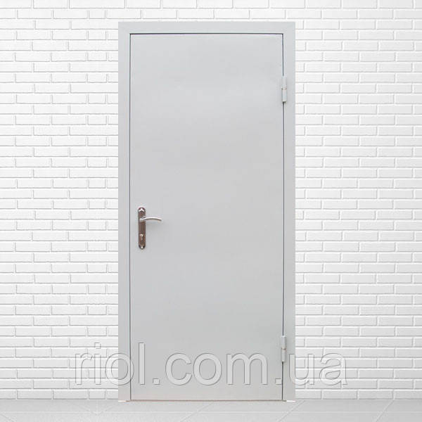Двери входные технические 1,2 мм (один лист металла)