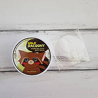 Secret Key Gold Racoony Hydrogel Eye Spot Patch, Золотые патчи под глаза