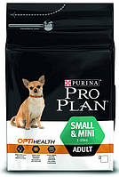 Сухой корм для собак малых и карликовых пород, Курица Pro Plan Adult Small&Mini Chicken, 3 кг