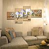 """Модульная картина """"Ветка белых орхидей"""", фото 3"""