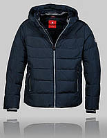 Мужская зимняя куртка Kings Wind 4441 Тёмно-синяя