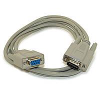RS232 нуль-модемный кабель DB9 COM 1.4м, rs232 null modem папа-мама