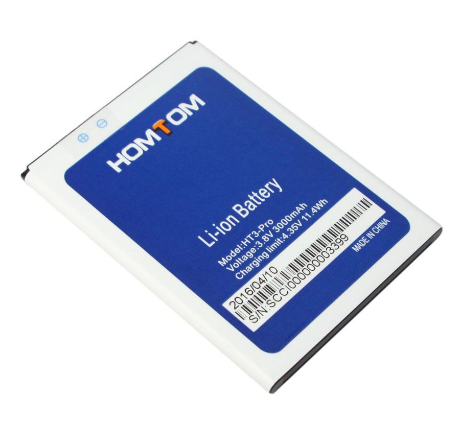 Аккумулятор Doogee Homtom HT3 / HT3 Pro 3000mAh Original батарея для т