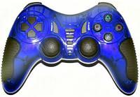 Геймпад Havit HV-G85, Blue, USB/PS2/PS3, 12 кнопок, двойная вибрация, режим 'Турбо'