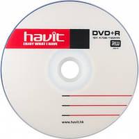 Диск DVD+R 50 шт. Havit, 4.7Gb, 16x, Bulk Box