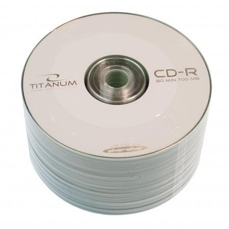 Диск CD-R 50 шт. Titanum, 700Mb, 52x, Bulk Box