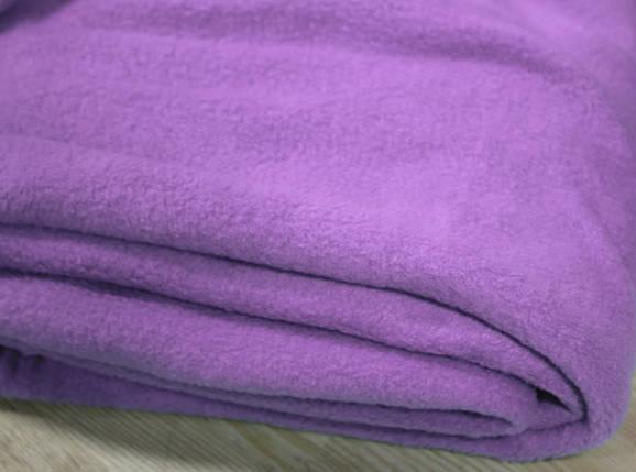 Ткань флис сиреневый оптом, фото 2