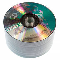 Диск CD-R 50 шт. Videx X-Green, 700Mb, 52x