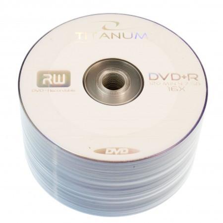 Диск DVD+R 50 шт. Titanum, 4.7Gb, 16x, Bulk Box