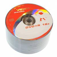 Диск DVD+R 50 шт. Videx Mamba, 4.7Gb, 16x