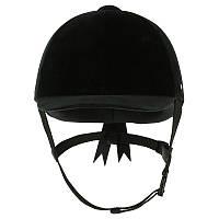 Шлем для верховой езды C400 Fouganza черный