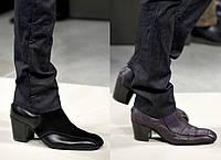 Ремонт мужских каблуков