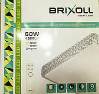 Светильник настенно-потолочный Brixoll SIYANIE smart с ПДУ 60W 4500lm 600*600