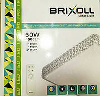 Светильник настенно-потолочный Brixoll SIYANIE BRX-60-004 smart с ПДУ 60W 4500lm 600*600, фото 1