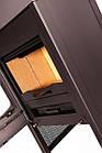 Отопительная печь-камин длительного горения FLAMINGO STAVANGER (серый), фото 3