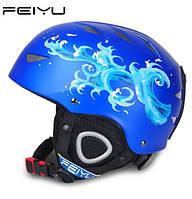 Горнолыжный шлем Feiyu. Синий