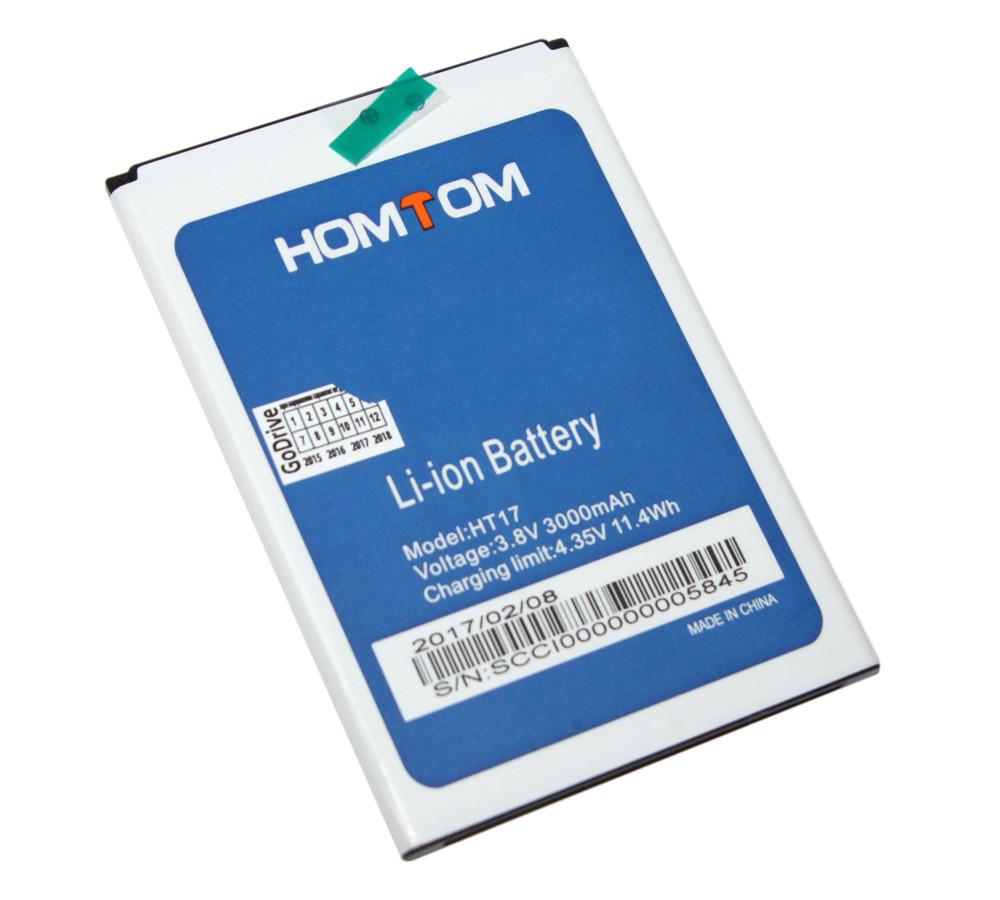 Аккумулятор Doogee Homtom HT17 / HT17 Pro 3000mAh Original батарея Номтом Хомтом НТ17 Про