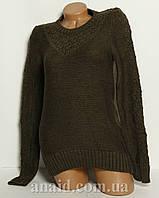 Женский свитер нарядный