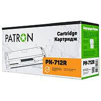 Картридж Canon 712, Black, LBP-3010/3020, 1.5k, Patron Extra (PN-712R)