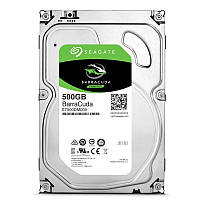 "Жесткий диск для компьютера 500 Гб Seagate BarraCuda, SATA 3, 32Mb, 7200 rpm (ST500DM009), накопитель винчестер HDD 3.5"" 500 Gb для ПК"