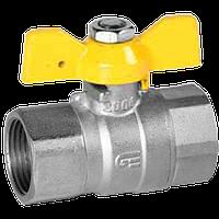 Краны шаровые латунные для газа  GENEBRE В/В тип 3505
