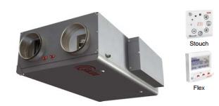 Приточно-вытяжная установка Salda RIS 1000 PW 3.0
