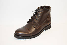 Коричневые мужские ботинки Faber
