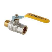 Кран шаровый латунный для газа В/Н  VT272 VALGAS Ру30