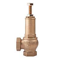 Клапаны предохранительные муфтовые латунные подпружиненные  ICMA (1-12 атм)
