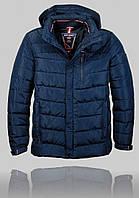 Мужская зимняя куртка Malidinu 4451 Тёмно-синяя