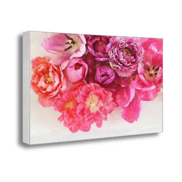 Фото картина на холсте с принтом Цветы
