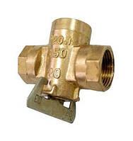 Кран газовый латунный пробковый 11Б34бк Ру 10 К