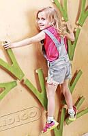 Скалодром детский KIDIGO Невероятные веточки на каркасе