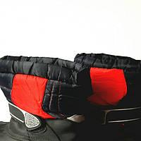 Сапожки для мальчика яркие, удобные, на меху, новые, размер 35