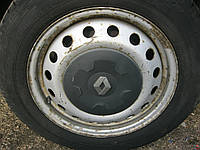 Диск R16 на Опель Виваро Opel Vivaro Рено Трафик Renault Trafic